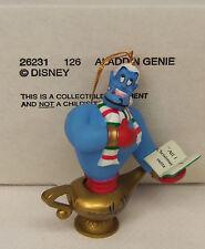Groiler Disney Aladdin GENIE Christmas Magic Holiday Ornament #126 MINT in BOX