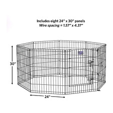 Heavy Duty Metal Exercise Pets Folding Pen For Cats and Dogs