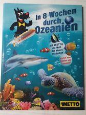 """Ozeanien 1""""IN 8 WOCHEN DURCH OZEANIEN""""ALBUM KOMPLETT 108 KARTEN"""