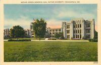 Indianapolis Indiana~Butler University~Arthur Jordan Memorial Hall~1940s Linen