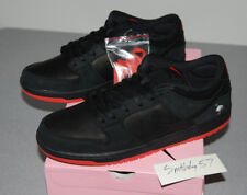 lowest price e23e6 c559f Nike SB Dunk Low Black Pigeon Jeff Staple Skateboard Shoes Black Red Size 13