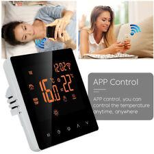 Smart Programmable Wifi Wireless Heated Digital Thermostat LCD Screen App Home