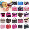 Travel Makeup Cosmetic Bag Multifunction Purse Box Toiletry Wash Case Organizer