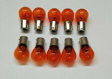 Vespa Px Freccia Fanale Posteriore 12v 21w Pin Offset Arancio Lampadina 11 x 41