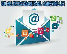 300 Million Database Email Marketing List (new active) & Free Sending Method