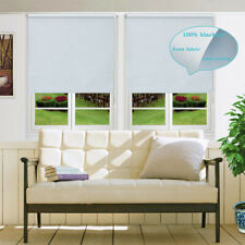 Blackout Roller Blinds Commercial Quality 6 Colors 60~210cmW 160~280cmD Sizes