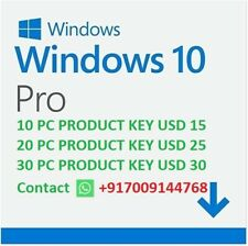 Windows 10 Pro 32/64-bit Product Key  ( WHATSAPP FOR DISCOUNT +917009144768 )
