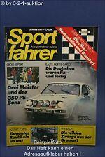 Sportfahrer 3/79 DB 450 SLC Toyota Celica GT