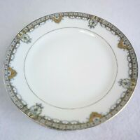 Antique Noritake The Reims Bread Butter Plates Set of 6 Japan Gold Trim 6 1/2""