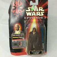 Vintage Star Wars Episode I Mace Windu The Phantom Menace Commtech NEW