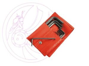 Facom 82H.JL10 Set of 10 Hexagon Keys in Pouch