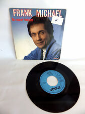 Vinyl 45 Tours Frank Michael on Returns Toujours 45t Vintage Audio