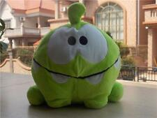 """HOT 8"""" CUT THE ROPE HUNGRY FACE PLUSH OM NOM SOFT TOY GIFTS HOT 21CM NEW"""