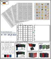 5 LOOK 301127 MÜNZHÜLLEN NUMOH 17 NH48 48 Fächer bis max 17 - 21,5 mm + ZWL-W