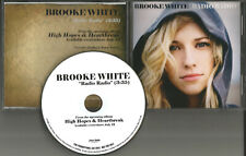 American Idol BROOKE WHITE Radio Radio RARE 2009 PROMO Radio DJ CD single MINT