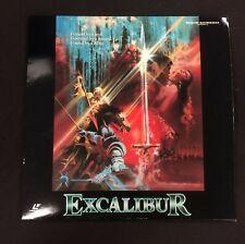 Vintage Laserdisc Excalibur 22030 VG++