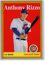 Anthony Rizzo 2019 Topps Archives 5x7 Gold #5 /10 Cubs
