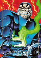 APOCALYPSE / 1992 Marvel Masterpieces BASE Trading Card #09 Art by JOE JUSKO
