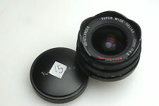 Voigtlander Super-Wide Heliar 15mm F/4.5 Leica LTM Threaded M39 Lens Rangefinder