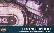 2014 Harley FLSTNSE CVO Softtail Owner's Owners Owner Manual Guide 99659-14