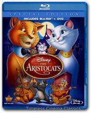 The Aristocats Blu-ray/DVD New Special Edition 2-Disc Set Phil Harris Eva Gabor