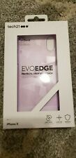 iPhone X, tech 21 Evo Edge Phone Cover