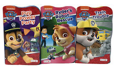 NEW! Lot Of 3 Paw Patrol Board Books, Baby Toddlers Children's Books
