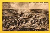 Picardie Aisne 02 AK CPA Guerre Aisne 1914-18 observer les oiseaux Laon Eppes WW
