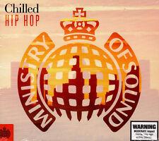 > MINISTRY OF SOUND - CHILLED HIP HOP / VAR ARTISTS - 2 CD SET - new & sealed