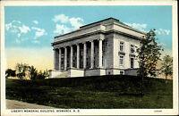 Bismarck North Dakota USA America postcard ~1920/30 Liberty Memorial Building