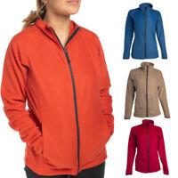 JGS Outfitters Women's Polar Fleece Zipper Jacket Lightweight Warm Sweater Shirt