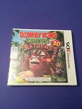 Donkey Kong Country Returns 3D *First Print  White Case* (3DS) NEW