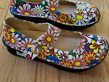 Professional Paloma Mary Jane by Alegria Shoes, Rare Pattern, Vintage,
