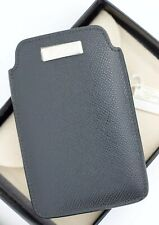 Chopard 95012-0107 Phone Case Black Leather Business Card Holder Made in Italy