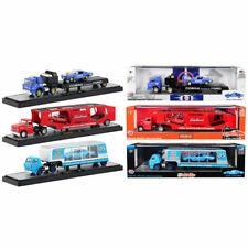 Crew + M2 Machines 1/64 Auto Haulers Release 38, 3 Style Trucks Diecast Models