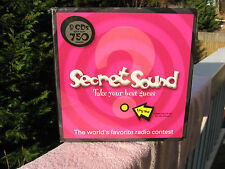"""Secret Sound Game """"The World's Favorite Radio Contest~New & Factory Sealed!"""