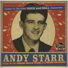Andy Starr ( sp ) Rockin'Rollin'Stone - 45 - ROCKABILLY NEW REPRO Sleazy Records