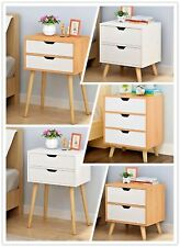 Wooden Bedside Table Drawers Cabinet Storage Bedside Tables Night Stand