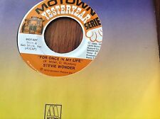 Stevie Wonder-You Met Your Match-For Once In My Life  Unplayed 45 rpm