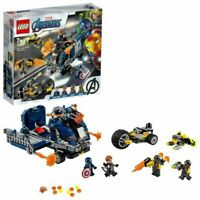 LEGO Super Heroes Marvel Avengers Truck Take-down Set 76143 Age 5+ 477pcs Toy