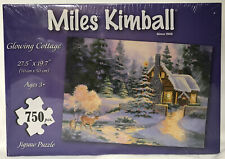 2014 SILVER STAR BRANDS MILES KIMBALL 750 PIECE JIGSAW PUZZLE GLOWING COTTAGE