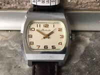 Raketa TV 2609.HA Mechanical Vintage Wrist Watch USSR Rare
