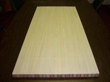 "Paulownia Surfboard - Alia - Hand plane Blanks -1 1/4"" x 6 3/4"" x 18"" USA Made"