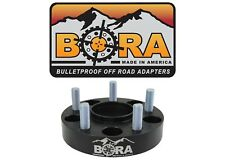 """Jeep TJ, LJ, YJ 2.00"""" Wheel Spacers (2) by BORA-  Made in the USA"""