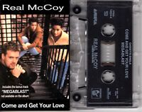 Real McCoy Come And Get Your Love 1994 Cassette Tape Single Pop Dance Rock