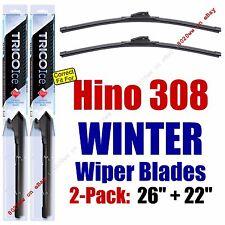WINTER Wiper Blades 2pk Premium fit 2007 Hino 308 - 35260/220