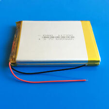 3.7V 6000mAh Li Po Battery for Tablet PC PAD DVD Power Bank Mobile Phone 117390
