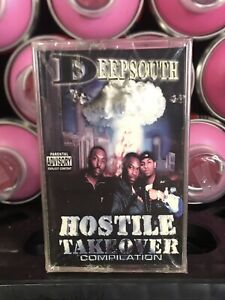 Deep South Hostile Takeover Compilation SEALED Cassette Tape Rare Atlanta Rap