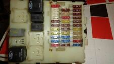 02-04 Ford Focus SVT interior cabin fuse box w/ fuses & relays 3S4T-14A073-SA