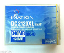 IMATION DC2120XL XIMAT 170MB/340mb QIC-80, MINICARTRIDGE FOR TAPE STREAMER, NEW